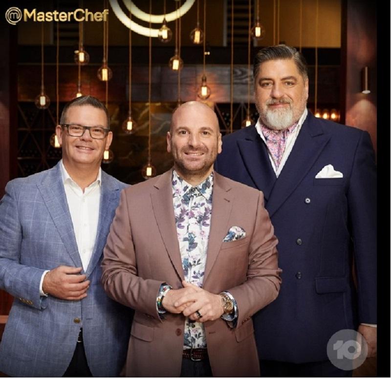 A screengrab from the Facebook page of MasterChef Australia shows Matt Preston, Gary Mehigan and George Calombaris.