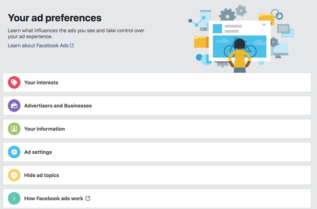 CNBC Tech: Ad preferences settings