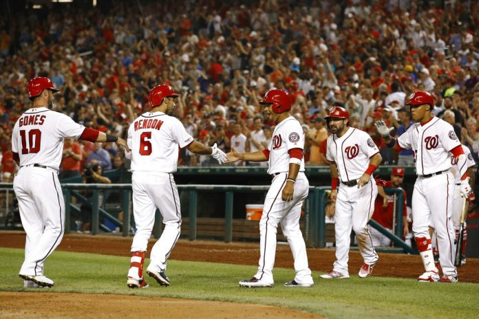 Rendon slam leads Nats over Braves 6-3, lead cut to 4½ games