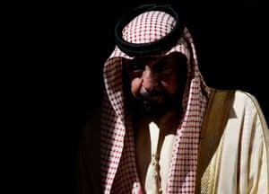 Emirati President Sheikh Khalifa bin Zayed