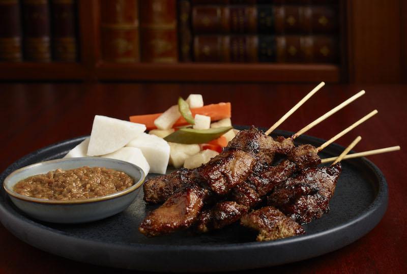 Iberico pork satay. Photo: Cook & Tras