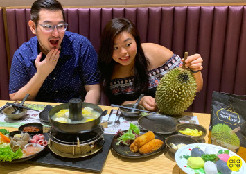 #Joeyjios: We tried durian hotpot and it wasn't disgusting