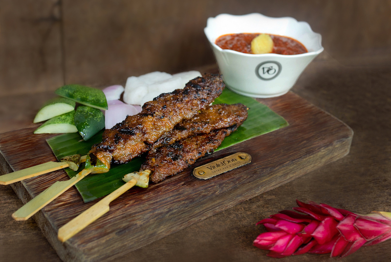 Impossible satay. Photo: Violet Oon Singapore