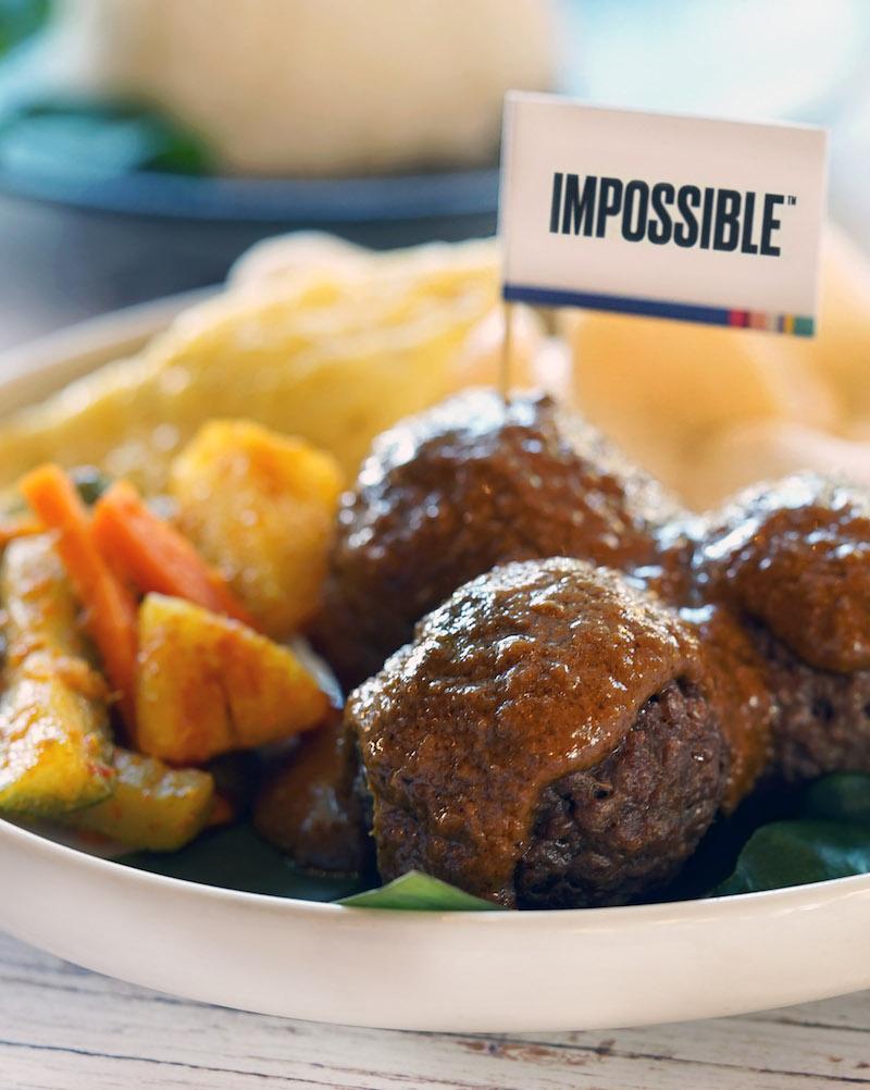 Rendang meatballs. Photo: The Marmalade Pantry