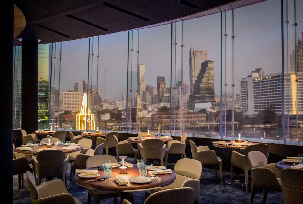 Blue by Alain Ducasse, ICONSIAM, Bangkok. — Picture courtesy of Blue by Alain Ducasse