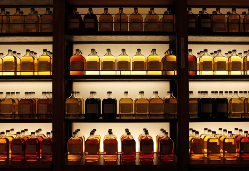Rare whiskys can fetch a high price at auction. — Reuters pic
