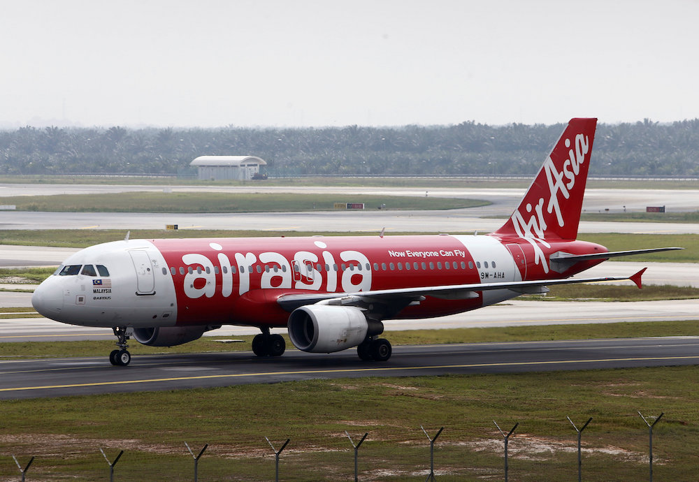 The suspension of all AirAsia flights from Kota Kinabalu, Bangkok and Phuket to Wuhan, China is now extended until the end of February. — Reuters pic