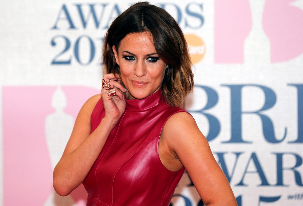 Television presenter Caroline Flack arrives for the BRIT music awards at the O2 Arena in Greenwich, London February 25, 2015. — Reuters pic