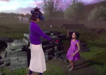 Mum reunites with deceased daughter through VR