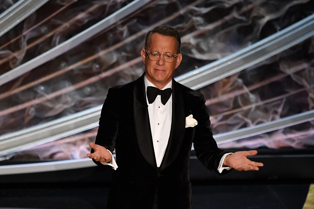 US actor Tom Hanks at the 92nd Academy Awards, February 2020. — AFP pic