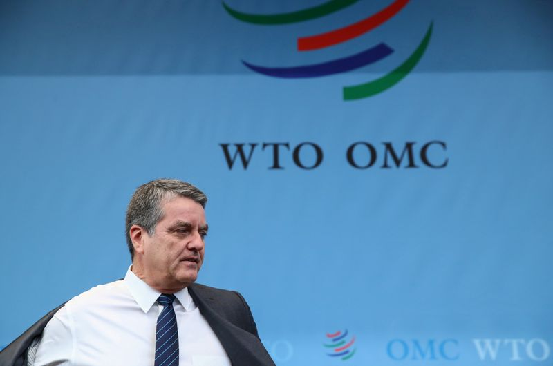 © Reuters. FILE PHOTO: WTO General Council in Geneva
