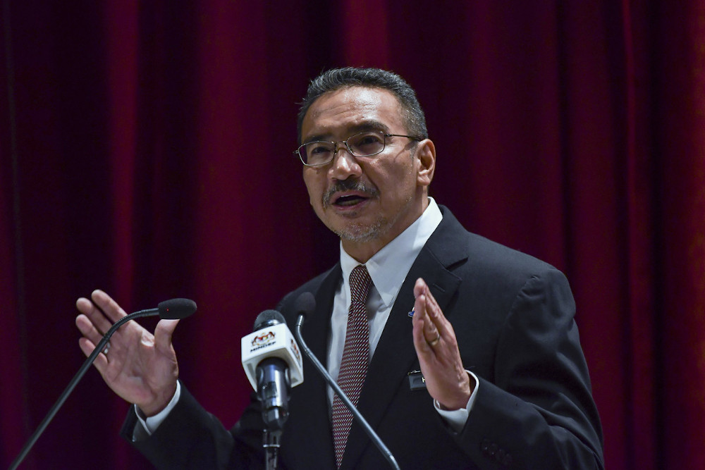 Senior Foreign Minister Datuk Seri Hishammuddin Hussein said the mutual recognition of vaccines, especially among Asean countries, is important to facilitate cross-matching in the future. — Bernama pic