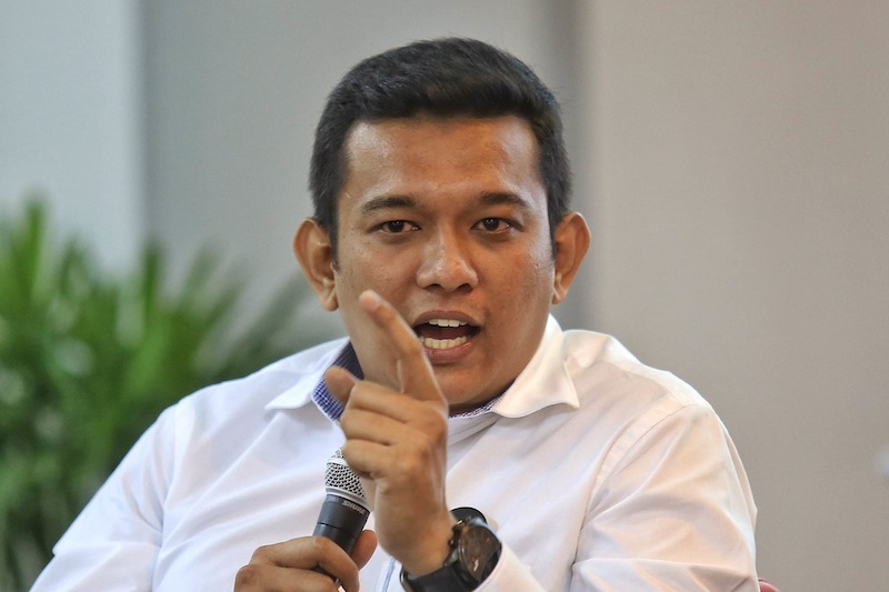 """The Pahang palace has revoked the """"Datuk"""" title from Malaysian Crime Watch Task Force (MyWatch) chairman Datuk R. Sri Sanjeevan with immediate effect. — Picture by Siow Saw Feng"""