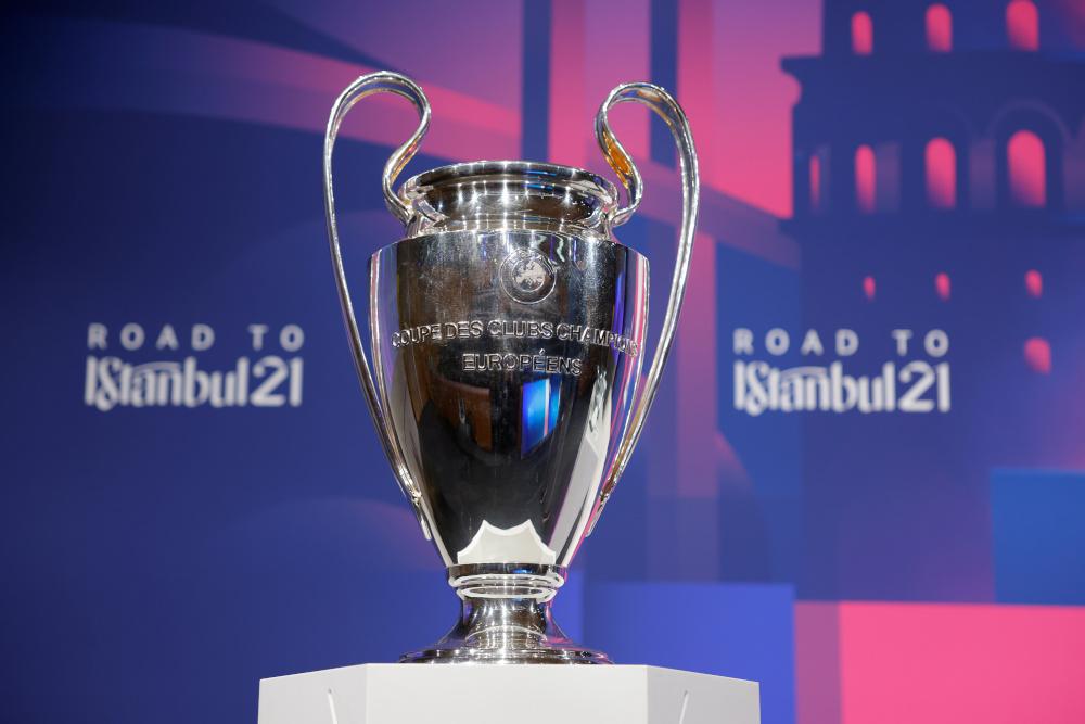 St Petersburg will now host the 2022 Uefa Champions League final. — Uefa handout pic via Reuters