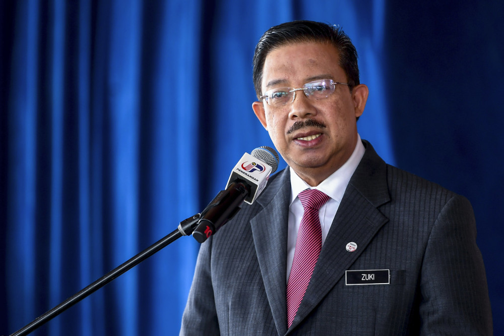 Tan Sri Mohd Zuki Ali said department heads should determine the presence of the required staff in the office based on the guidelines. — Bernama pic