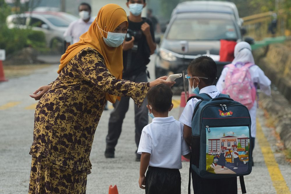 Maszlee noted that many parents remain fearful of letting their children attend school given the pandemic. — Picture by Miera Zulyana