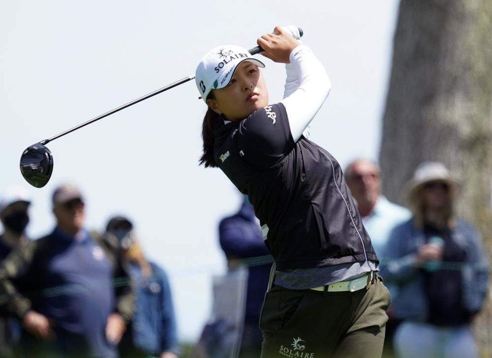 Ko fired a five-under par 66 to finish on 18-under 266 after 72 holes at Mountain Ridge Country Club in West Caldwell, New Jersey. — Reuters pic
