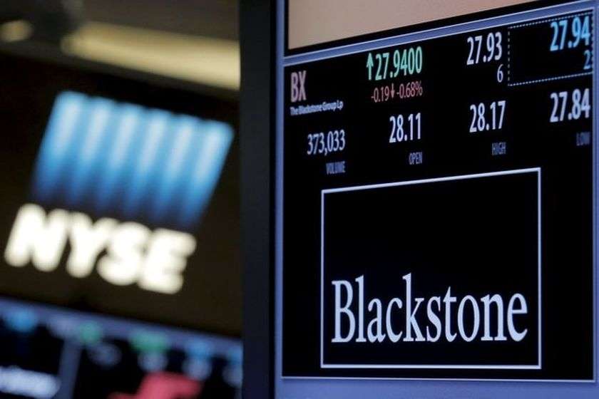 The ticker and trading information for Blackstone Group is displayed at the post where it is traded on the floor of the New York Stock Exchange in this picture released June 8, 2016. — Reuters pic