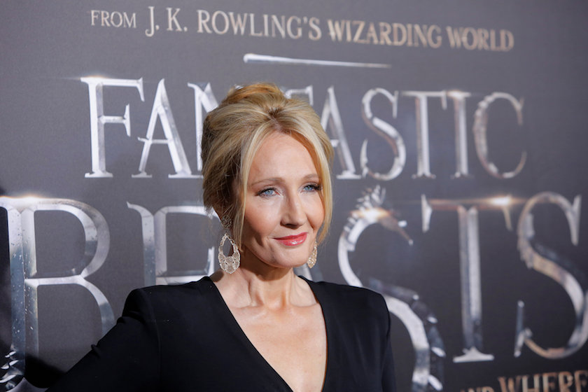 JK Rowling attends the premiere of 'Fantastic Beasts and Where to Find Them' in New York November 10, 2016. — Reuters pic