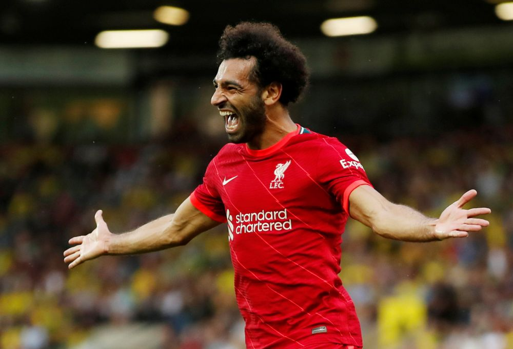 Liverpool star Mohamed Salah helped Egypt to a 3-0 World Cup qualifying triumph over closest rivals Libya. — Reuters pic